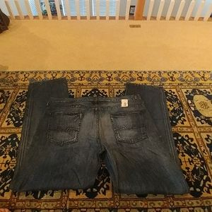 BRAND NEW MEN'S 7 FOR ALL MAN KIND SLOUCHY JEANS